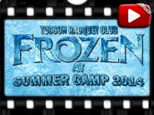 2014 Frozen in Camp Movie Buttons