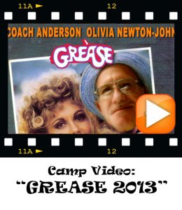 Camp Movie Buttons Grease 2013